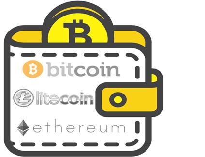 bitcoin wallet art